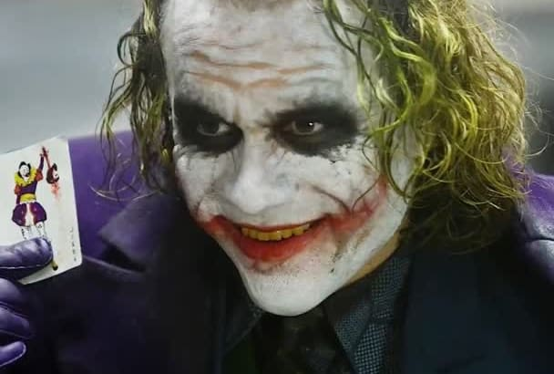 record your message using my JOKER impression