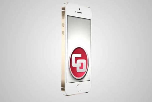 create this amazing IPHONE 5S video to promote your app or business