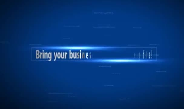 create an innovative video intro to promote business
