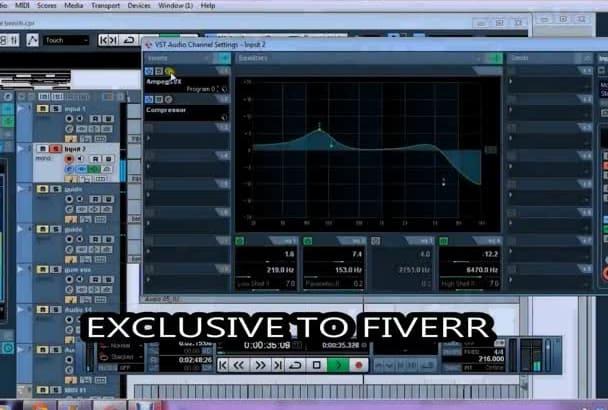 mix your audio track