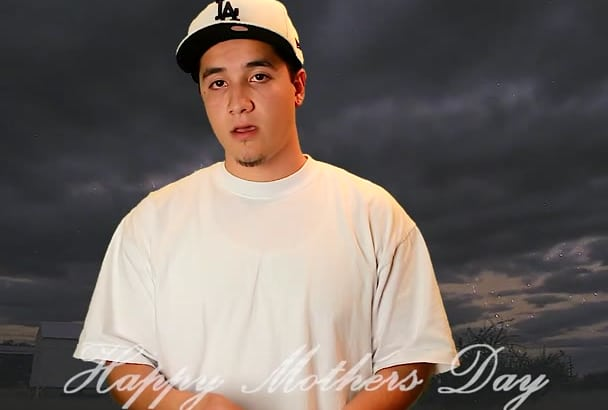 write and record your Mothers Day rap