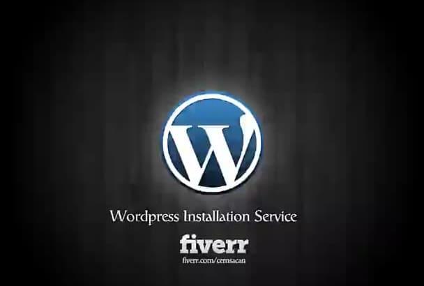 install full Wordpress Site