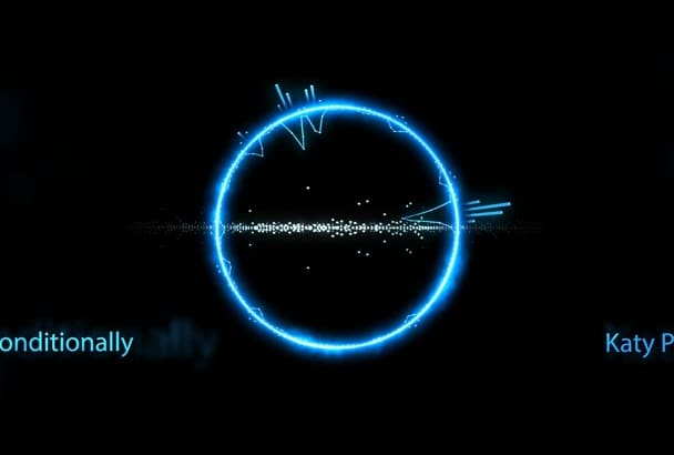 create an Amazing Music Visualization Video Of Any Song
