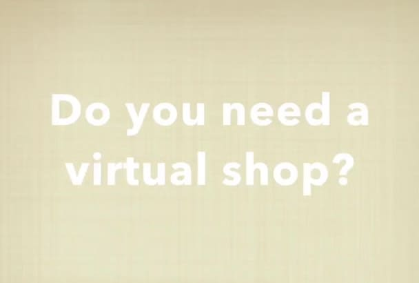 create your own virtual shop