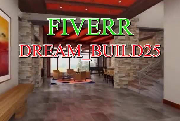 provide amazing interior, exterior, 3D floor plan