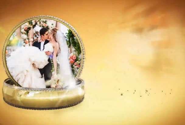 create Amazing Wedding or Anniversary Video