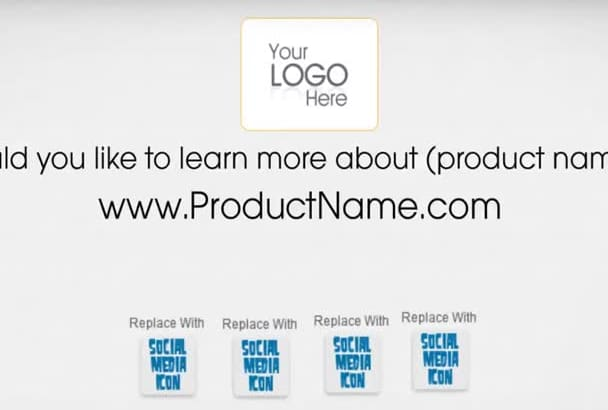 create an animation video for your product or service