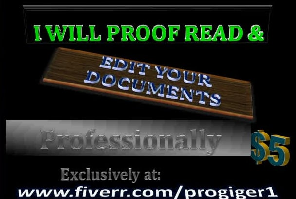 proofread and edit  up to 10,000 words