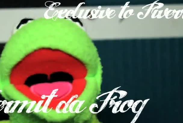 record a personal message from Kermit the Frog