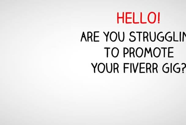 create a professional hd quality VIDEO for your fiverr gig to get more sales
