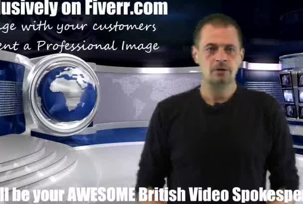 be your awesome british spokesperson