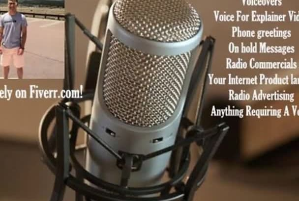 record a Professional Voiceover For Any Project