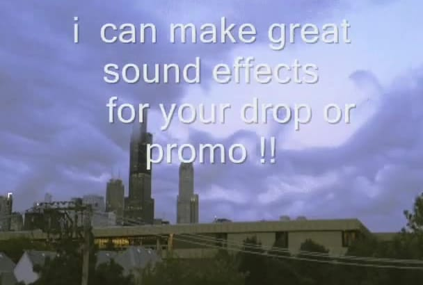 create or edit a radio drop,podcast or audio ad with effects