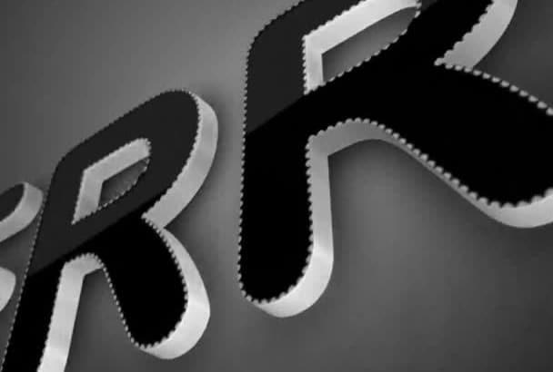 do 2 Elegant 3D Logo Intro videos