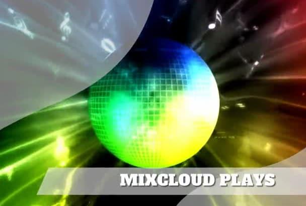 do 5000 MIXCLOUD Plays