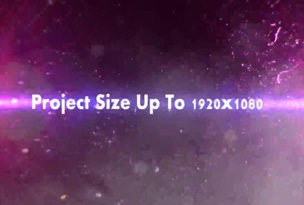 make a professional intro clip