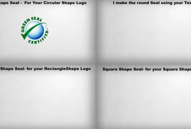 make this STAMP and Seal Video for your Logo