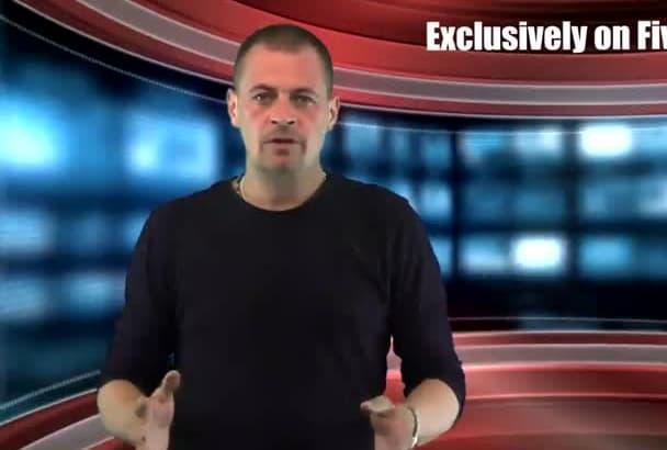 be your BRITISH video spokesperson