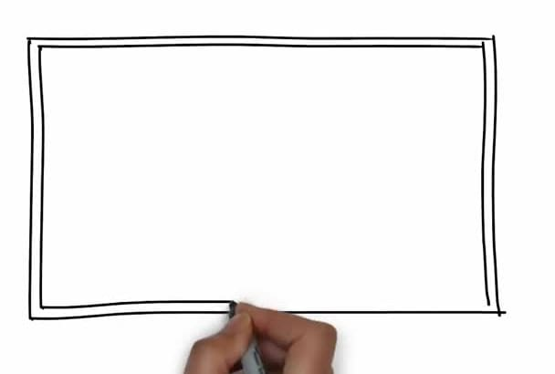 create a whiteboard animation digital hand drawn video