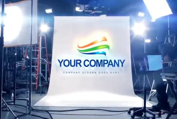 promote your logo in cinematic studio
