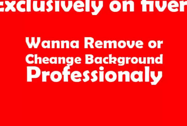 change background of your images