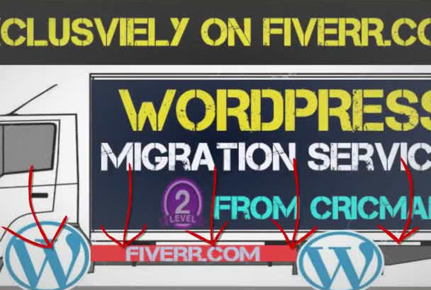 transfer,clone or migrate WordPress website within 24 hours