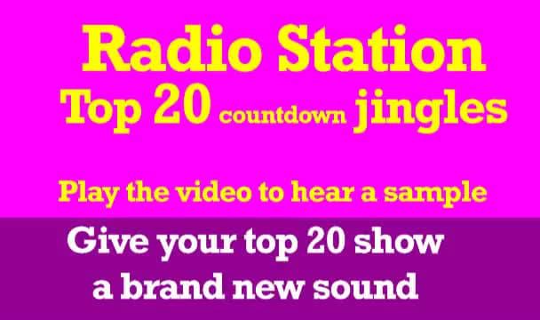 send you my top 20 countdown jingles