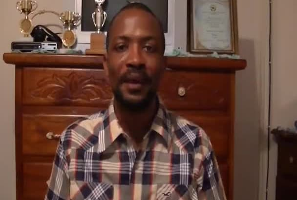 do a video testimonial