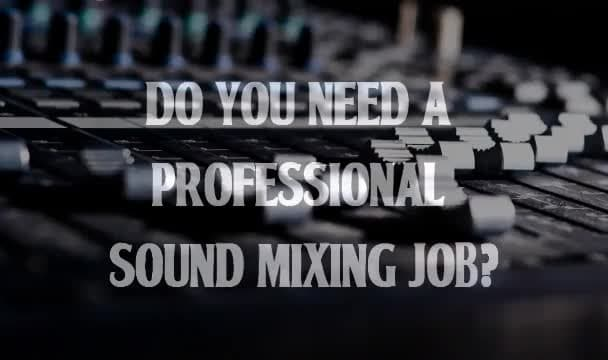 professionally mix your song