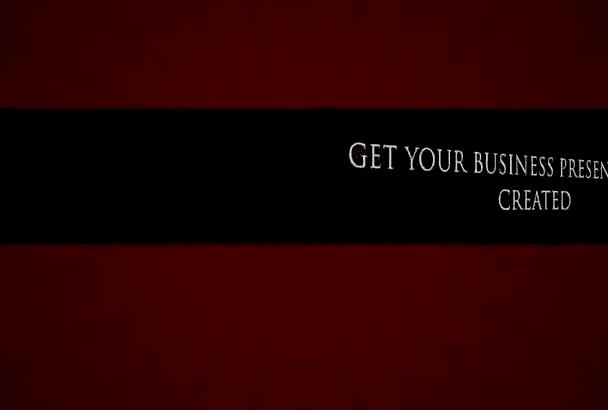 create a business PowerPoint presentation