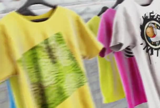 do T Shirt Mockup Video