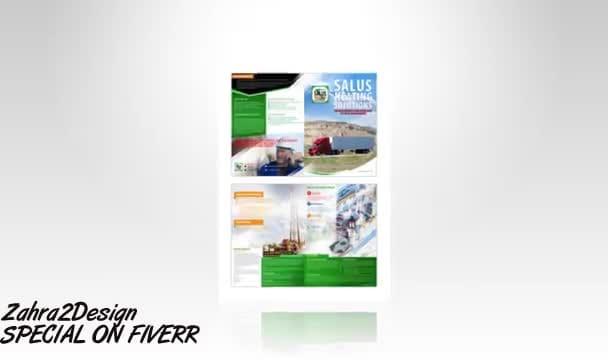 create a PROFESSIONAL brochure design