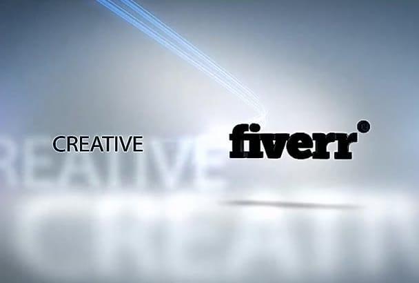 do 3d Logo Video Intro