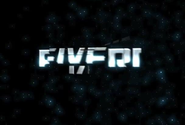 do TRANSFOMER your logo video intro