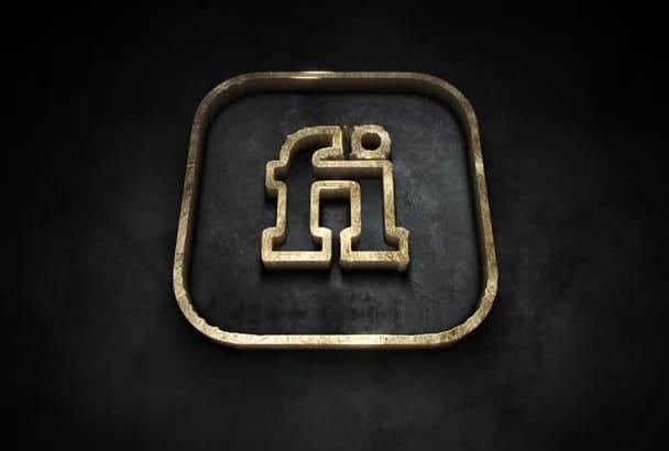 brave Cinematic Epic 3d Video Logo Reveal Intro