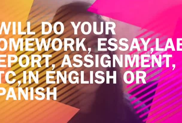 write any text for you in English or Spanish