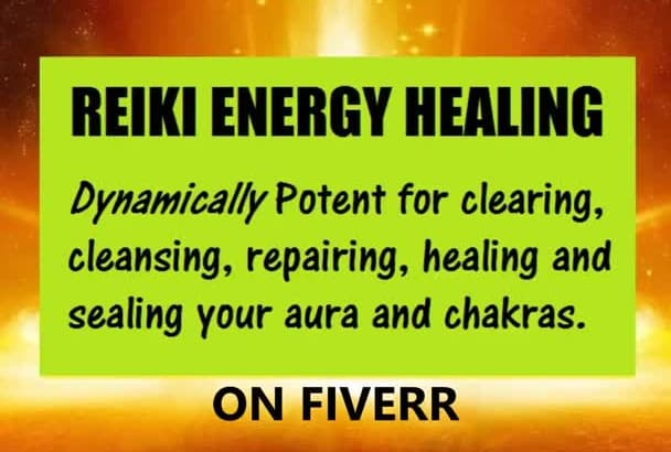 do a Dynamically Potent Master REIKI Energy Healing at a distance