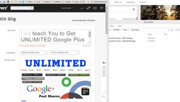 teach You How To Get UNLIMITED Google Plus Followers and Post Shares