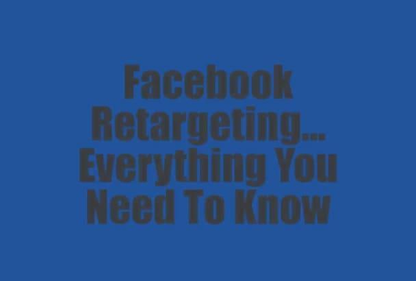 teach You How To Do Facebook Retargeting