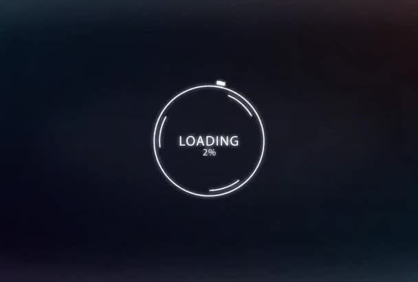 create a Logo Reveal Intro Video with Loading Effect