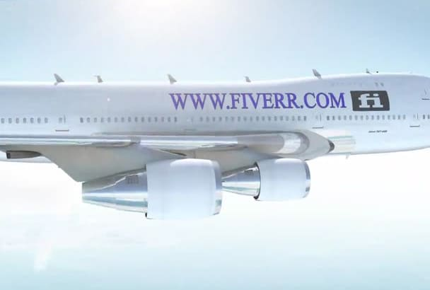 advertise anything you want on a moving airline