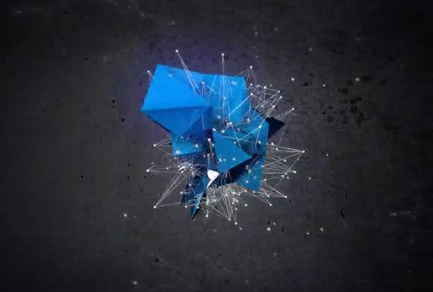 create Awesome Elegant Glitch Logo Intro HD