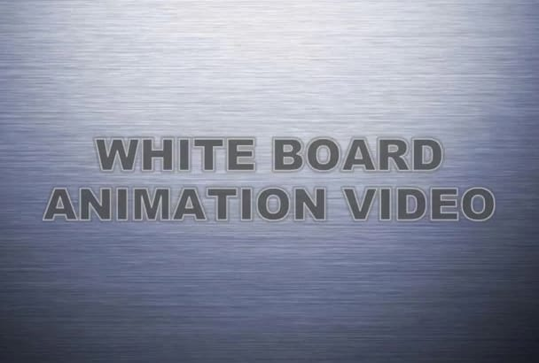 create an Eye Catching WHITEBOARD Animation Video