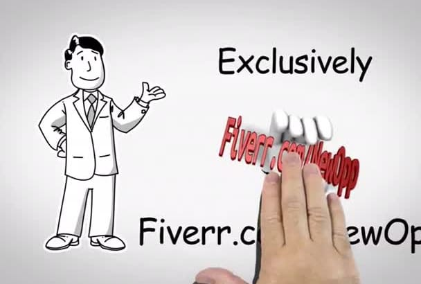 create a Professional HD Animation Explainer Whiteboard Video
