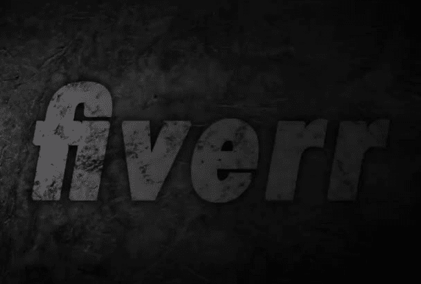 create a 3D metal intro for your channel
