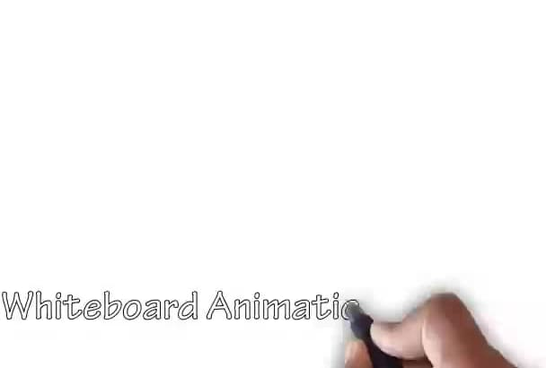 do a white board animation