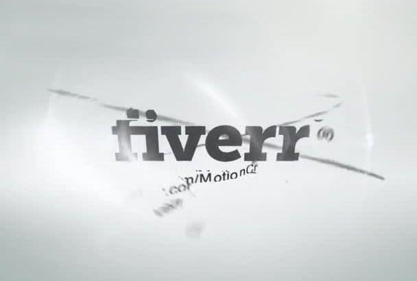 animate your Logo Professionally