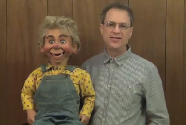 do your promo video with my ventriloquist puppet
