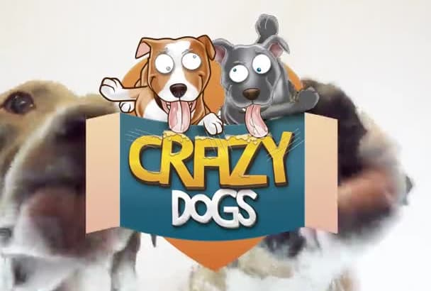 make my Dogs Lick your Logo or name