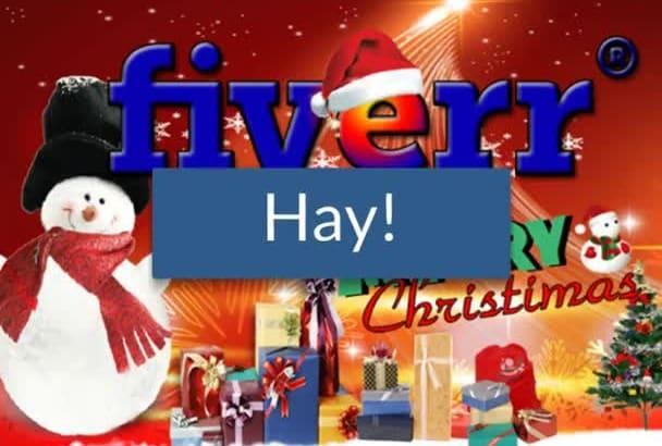 do A Makeover Christmas LOGO Or Facebook, Youtube, Twitter Banner Or Header